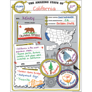 Amazing State Poster Pack (pack of 32)