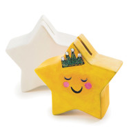 Color-Me™ Ceramic Bisque Star Banks (makes 12)