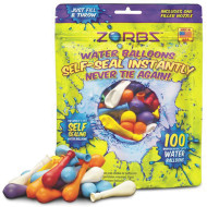 Zorbz Self-Sealing Water Balloons  (pack of 100)