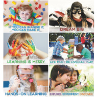 STEM Primary Poster Pack (set of 6)