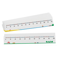 Write-On/Wipe-Off Number Lines (set of 10)