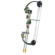 Archery Warrior Compound Bow Set, 26""