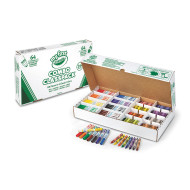 Crayola® My First Washable Crayon & Marker Classpack® (box of 128)