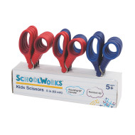 "SchoolWorks® 5"" Safety Tip Scissors (pack of 12)"