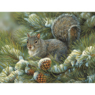 Gray Squirrel Easy Handling Puzzle, 275 Pieces
