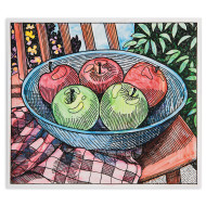 Paint Palette Craft Kit: Apple Still Life (makes 24)