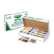 Crayola® Classpack® Regular Markers & Crayons (box of 256)