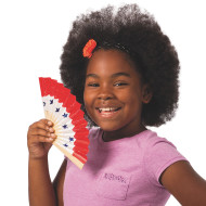 Color-Me™ Paper Fans (makes 24)