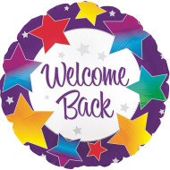 Welcome Back Mylar Balloon (pack of 10)