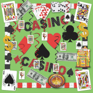 Casino Decorating Easy Pack