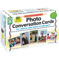 Photo Conversation Cards For Children with Autism & Asperger