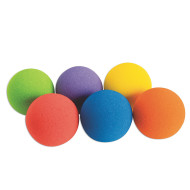 "Spectrum™ Super Bounce Foam Ball, 3-1/2"" (set of 6)"
