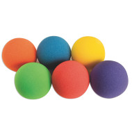 "Spectrum™ Light Foam Ball Set, 4"" (set of 6)"