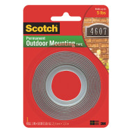 Scotch® Double-Sided Outdoor Mounting Tape, 60""