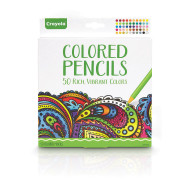 Crayola® Premium Colored Pencils (set of 50)
