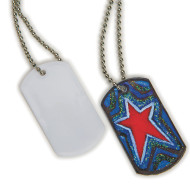 Color-Me™ Dog Tag Necklaces (makes 50)