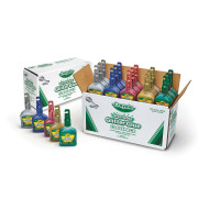 Crayola® Washable Glitter Glue Classpack® (pack of 20)
