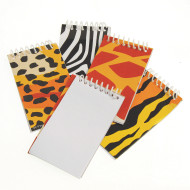 Animal Print Notebooks (pack of 12)