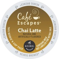 Cafe Escapes Chai Tea Latte K-Cups (pack of 24)