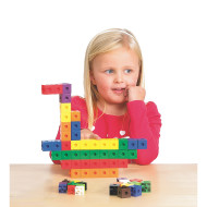 "1"" Measurement Chunky Linking Cubes"