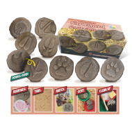 Let's Investigate: Farmyard Footprints (set of 8)