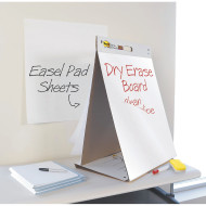 "Post It® Dry Erase Surface Table Top Easel Pad, 20"" x 23"""
