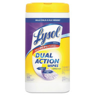 Lysol Brand® Dual Action Citrus Scent Disinfecting Wipes