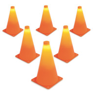 LED Light Up Cones (Set of 6) (set of 6)