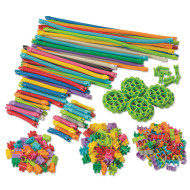 Magic Wands, Tubes, and Connectors Building Set (set of 200)