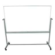 "Double-Sided Magnetic Whiteboard, 72"" x 40"""