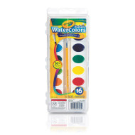 Crayola® Washable Watercolors (set/16)