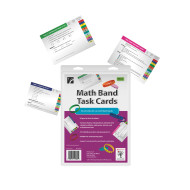 Math Band Task Cards (set of 31)