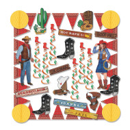 Western Decorating Kit (kit of 27)