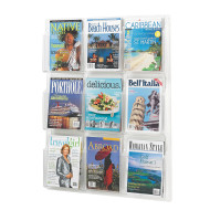 Reveal 9-Magazine Display Rack