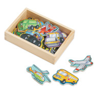 Melissa & Doug® Wooden Vehicle Magnets