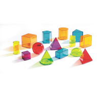 View Thru Geometric Solids (set of 14)