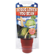 Jesus Loves You Message Bean Garden Kit