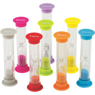 Small Sand Timers Combo (pack of 8)