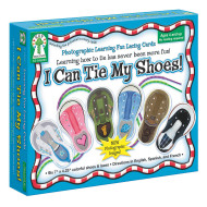 I Can Tie My Shoe Lacing Cards
