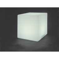 "Color Change Light Up 8"" Cube"