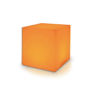 "Color Change Light Up 12"" Cube"
