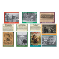 Black History Events Bulletin Board Accents (set of 36)