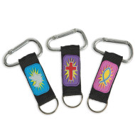 Religious Lanyard Key Chains (pack of 12)