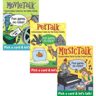 Table Talk Card Set II (set of 3)