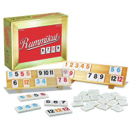 Wood Rummikub in Wooden Box