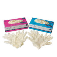 Polymed® Powder-Free Latex Gloves (box of 100)
