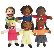 Ethnic Children's Puppet (set of 6)