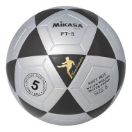 Mikasa® FT5 Soccer Ball Size 5, Black/Silver