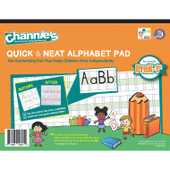 Quick & Neat Alphabet Handwriting Paper, Grades Pre-K – 1 (pack of 10)