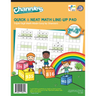 Quick & Neat Math Pad, Grades 2–3 (pack of 10)